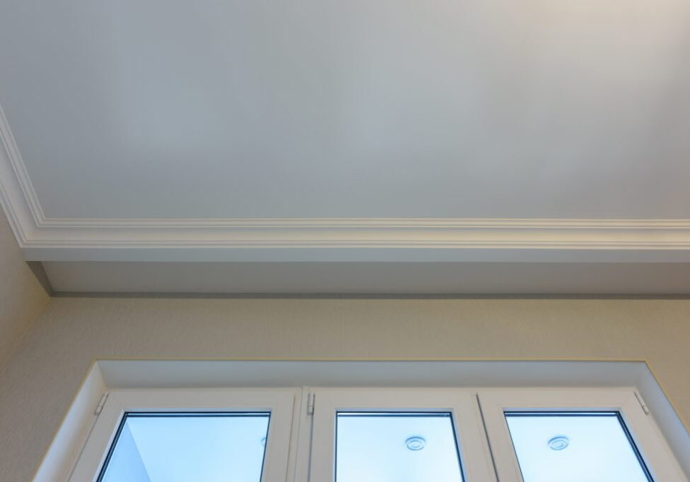 a house white ceiling